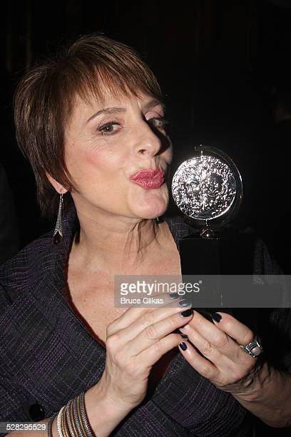 Actress Patti Lupone attends the 62nd Annual Tony Awards on June 15 2008 at the Rainbow Room in New York