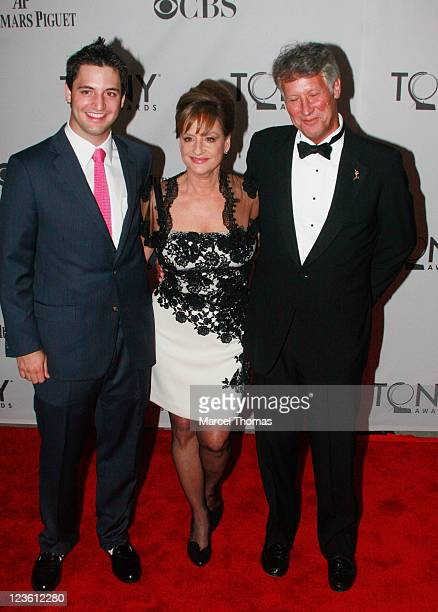 Actress Patti Lupone attends the 65th Annual Tony Awards at the Beacon Theatre on June 12 2011 in New York City