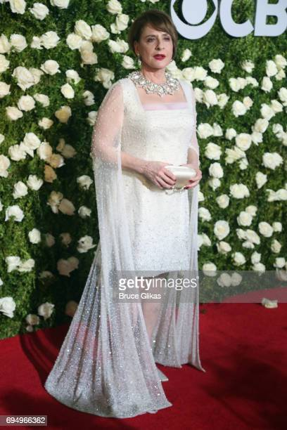 Actress Patti Lupone attends the 71st Annual Tony Awards at Radio City Music Hall on June 11 2017 in New York City