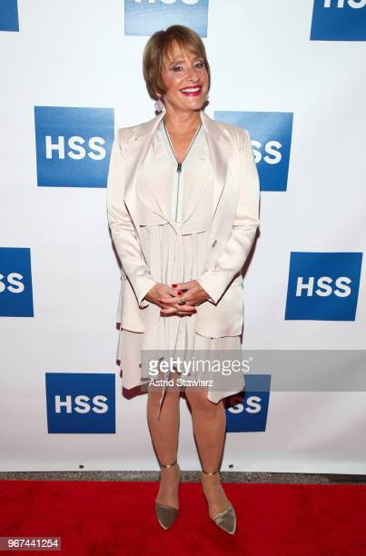 Actress Patti LuPone attends The Hospital for Special Surgery 35th Tribute Dinner at the American Museum of Natural History on June 4 2018 in New...