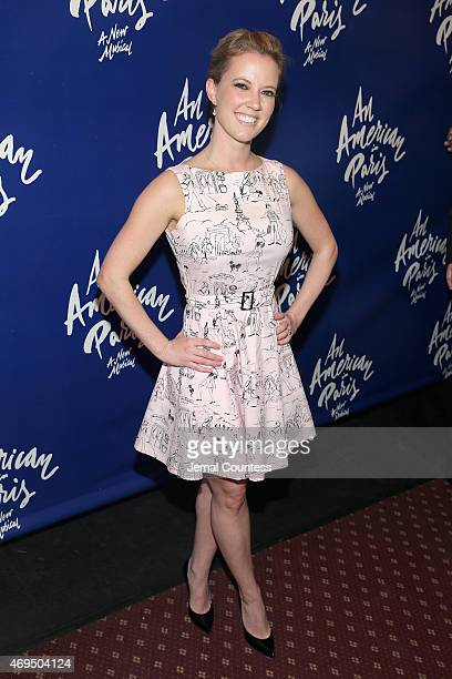 Actress Patti Murin attends An American In Paris Broadway opening night at Palace Theatre on April 12 2015 in New York City