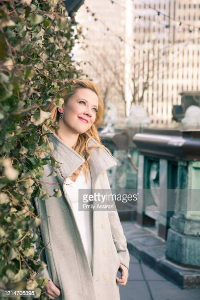 Actress Patti Murin is photographed for BackStage Magazine on January 30 2018 at The Knickerbocker in New York City PUBLISHED IMAGE