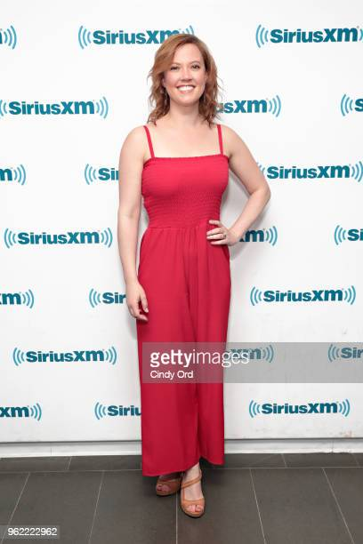 Actress Patti Murin takes part as SiriusXM on Broadway presents 'Curtain Call with FROZEN The Broadway Musical' featuring conversations with the...