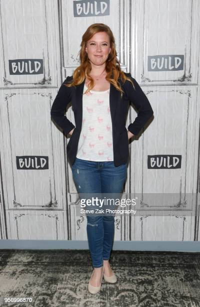 Actress Patti Murin visits Build Series to discuss Frozen at Build Studio on May 10 2018 in New York City