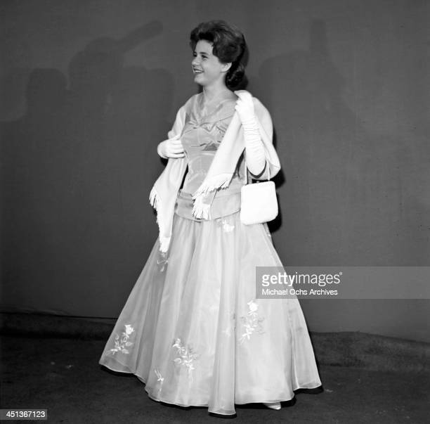 Actress Patty Duke attends a party in Los Angeles California