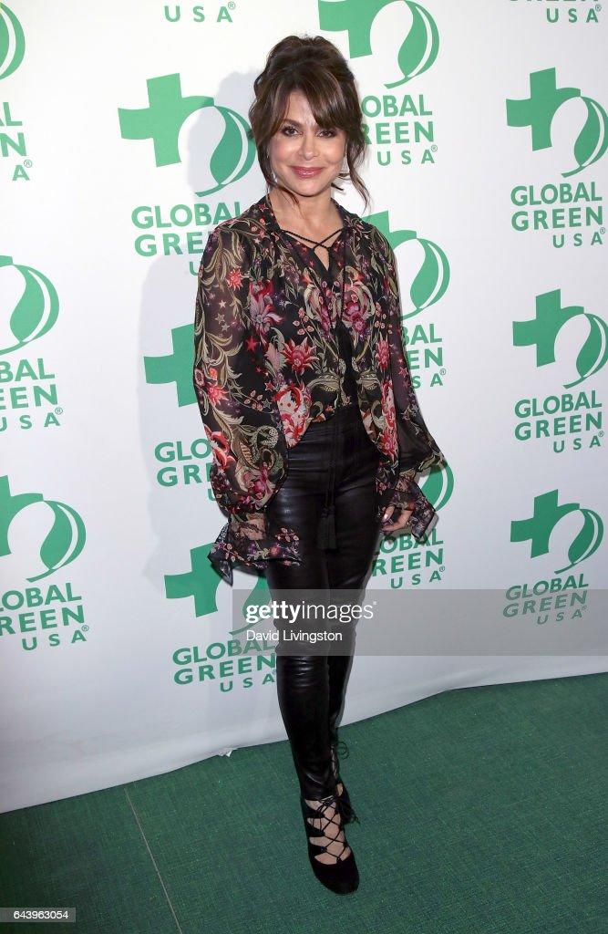 14th Annual Global Green Pre-Oscar Gala - Arrivals : News Photo
