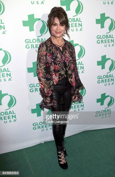 Actress Paula Abdul attends the14th Annual Global Green PreOscar Gala at TAO Hollywood on February 22 2017 in Los Angeles California