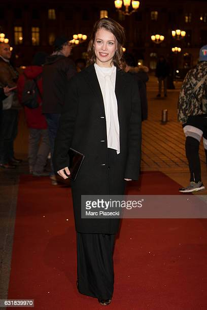 Actress Paula Beer attends 'CHAUMET Cesars Revelations 2017' cocktail on January 16 2017 in Paris France