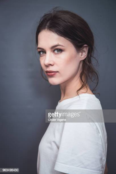 Actress Paula Beer is photographed for Self Assignment on April 2018 in Cannes France