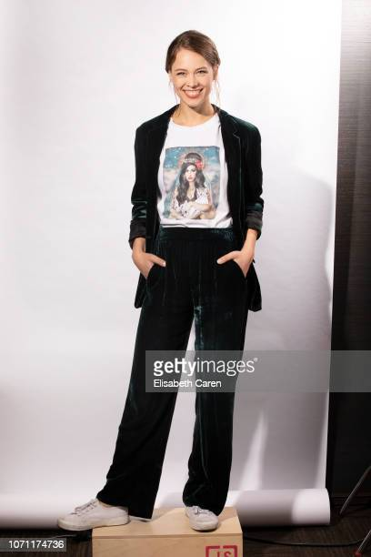 Actress Paula Beer is photographed for The Wrap on September 9 2018 at the Toronto International Film Festival in Toronto Ontario