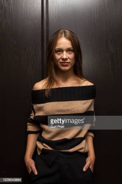 Actress Paula Beer poses for a photo at the Sony Pictures Classics TIFF Celebration Dinner at Morton's on September 8, 2018 in Toronto, Canada.