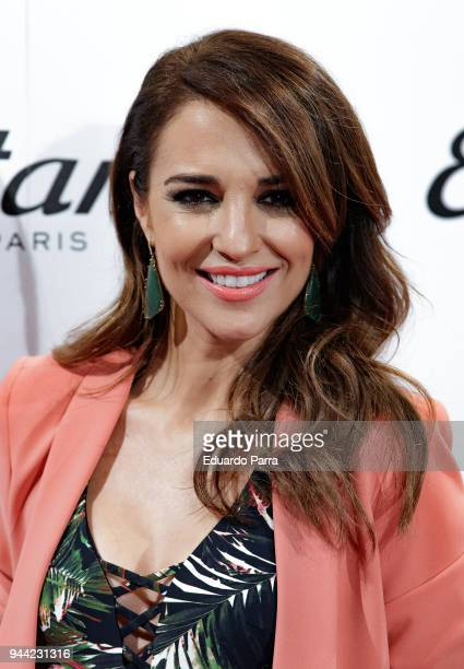 Actress Paula Echevarria attends the 'Etam new collection' photocall at Ephimera space on April 10 2018 in Madrid Spain