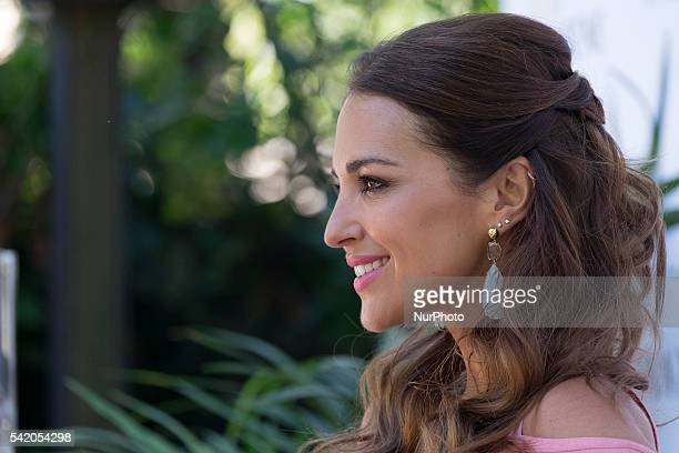 Actress Paula Echevarria attends the 'Pelo Pantene' photocall at Warehouse on June 21 2016 in Madrid Spain