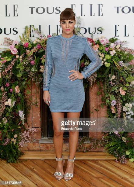 Actress Paula Echevarria attends the photocall of 'Elle Tribute To Emma Roberts' at Palacio Santa Barbara on April 03 2019 in Madrid Spain