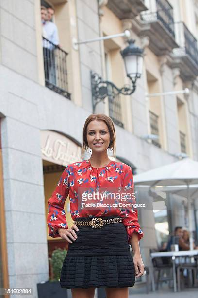 Actress Paula Echevarria attends 'Vulnerables' photocall at Yelmo Ideal Cinema on October 23 2012 in Madrid Spain