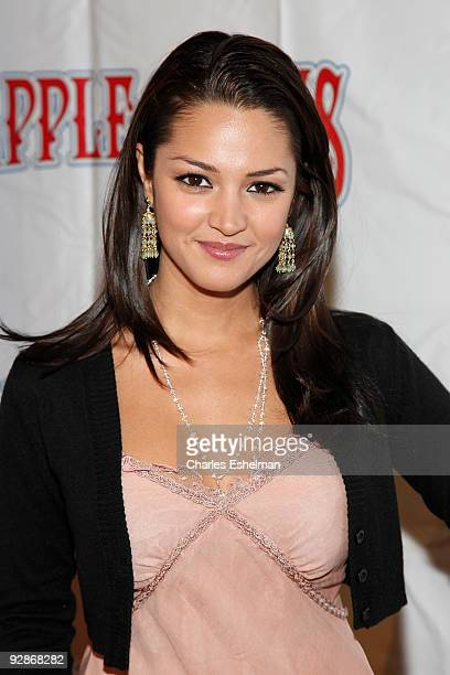 Actress Paula Garces attends the 2009 Big Apple Circus opening night gala benefit at Damrosch Park in Lincoln Center on November 6 2009 in New York...
