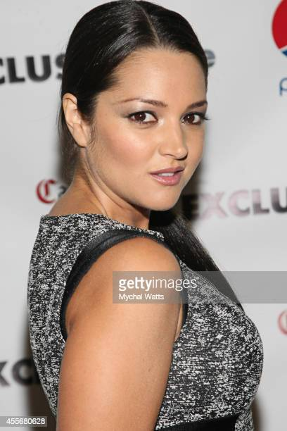 Actress Paula Garces attends the Exclusivleecom Launch Party>> at Stray Kat Gallery on September 18 2014 in New York City
