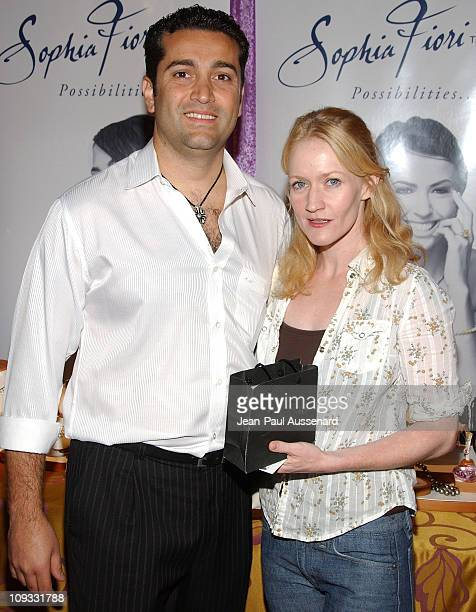 Actress Paula Malcomson attends the pre-Emmy HBO luxury lounge held at the Four Seasons Hotel on September 16th, 2007 in Los Angeles, California.