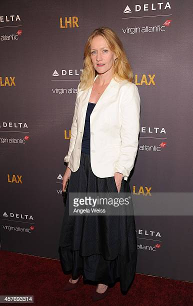 Actress Paula Malcomson joins Delta Air Lines and Virgin Atlantic for a private #flysmart celebration to toast the new direct route between LAX and...