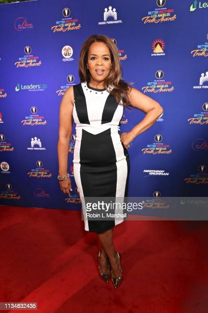 Actress Paula Newsome attends the 5th Annual Truth Awards at Taglyan Cultural Complex on March 09 2019 in Hollywood California