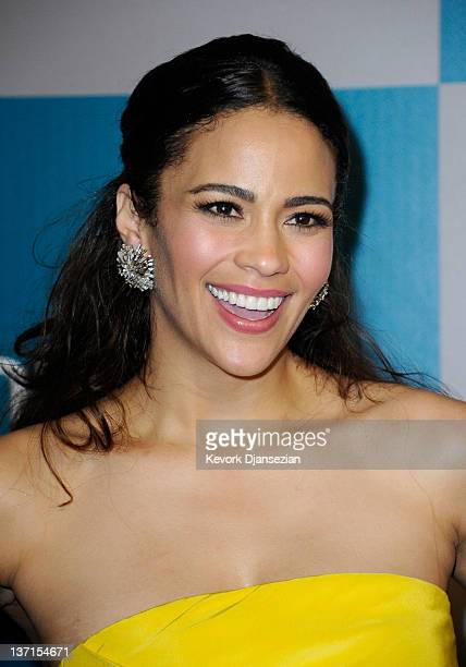 Actress Paula Patton arrives at 13th Annual Warner Bros And InStyle Golden Globe Awards After Party at The Beverly Hilton hotel on January 15 2012 in...