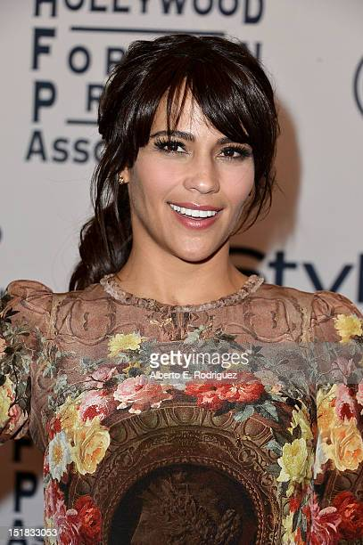 Actress Paula Patton arrives at the 13th Annual InStyle And The Hollywood Foreign Press Association's Toronto International Film Festival Party at...