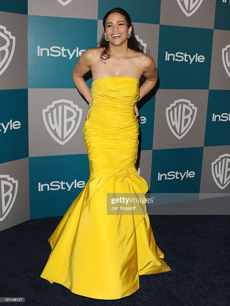 Actress Paula Patton arrives at the 13th Annual Warner Bros. And InStyle Golden Globe After Party held at The Beverly Hilton hotel on January 15, 2012 in Beverly Hills, California.