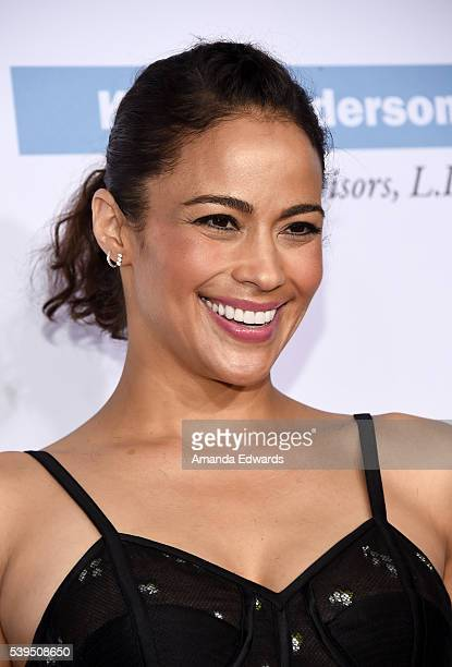 Actress Paula Patton arrives at the 15th Annual Chrysalis Butterfly Ball on June 11 2016 in Brentwood California