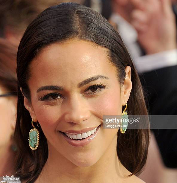Actress Paula Patton arrives at the 21st Annual Screen Actors Guild Awards at The Shrine Auditorium on January 25 2015 in Los Angeles California