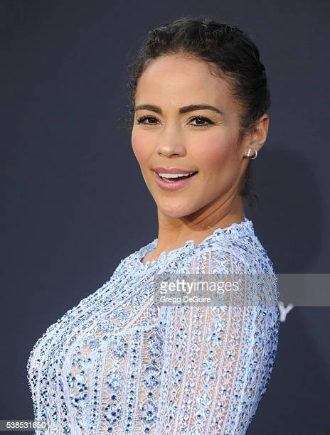 Actress Paula Patton arrives at the premiere of Universal Pictures' 'Warcraft' at TCL Chinese Theatre IMAX on June 6 2016 in Hollywood California