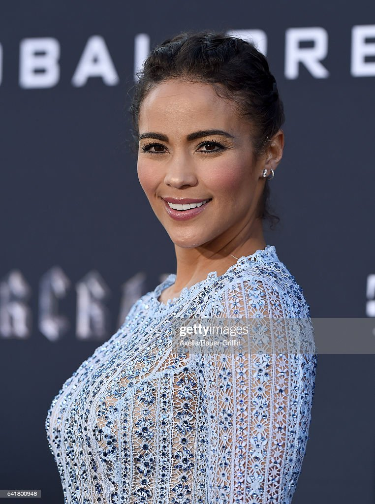 Actress Paula Patton arrives at the premiere of Universal Pictures' 'Warcraft' at TCL Chinese Theatre IMAX on June 6, 2016 in Hollywood, California.