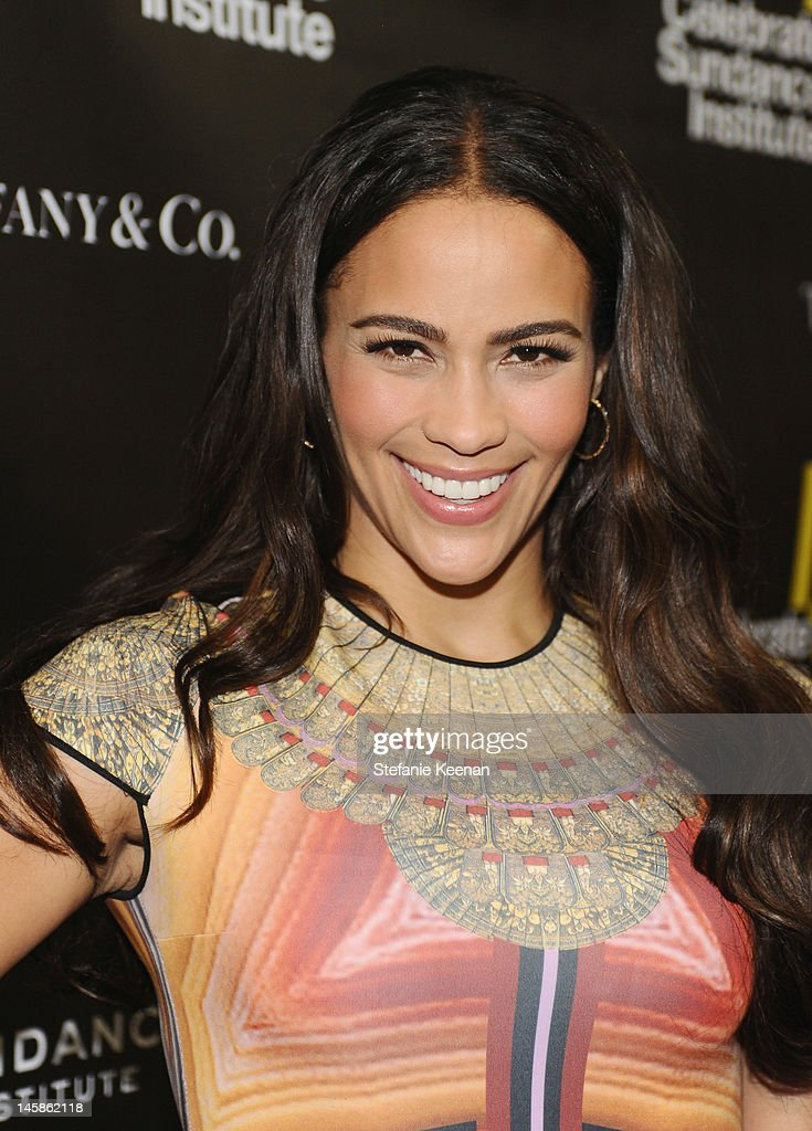 Actress Paula Patton arrives at the Sundance Institute Benefit presented by Tiffany & Co. in Los Angeles held at Soho House on June 6, 2012 in West Hollywood, California.
