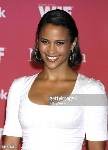 Actress Paula Patton arrives at Women In Film's 2009 Crystal and Lucy Awards at the Hyatt Regency Century Plaza on June 12 2009 in Century City...