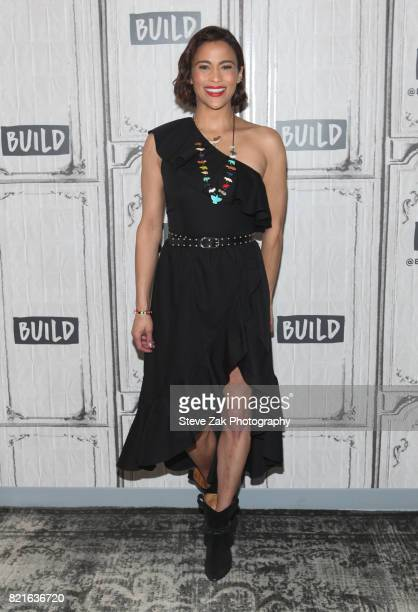 Actress Paula Patton attends Build Series to discuss Somewhere Between and her new film Traffik at Build Studio on July 24 2017 in New York City