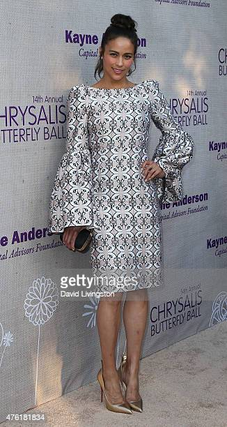 Actress Paula Patton attends the 14th Annual Chrysalis Butterfly Ball sponsored by Audi Kayne Anderson Lauren B Beauty and Z Gallerie at a private...