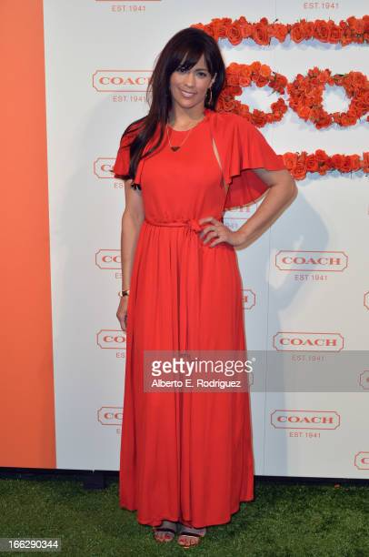 Actress Paula Patton attends the 3rd Annual Coach Evening to benefit Children's Defense Fund at Bad Robot on April 10 2013 in Santa Monica California