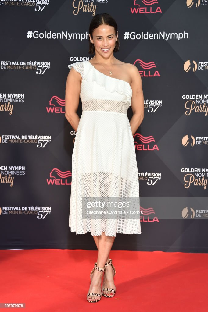 US Actress Paula Patton attends the Golden Nymph Nominees Party at the Monte-Carlo Bay Hotel on June 19, 2017 in Monte-Carlo, Monaco.