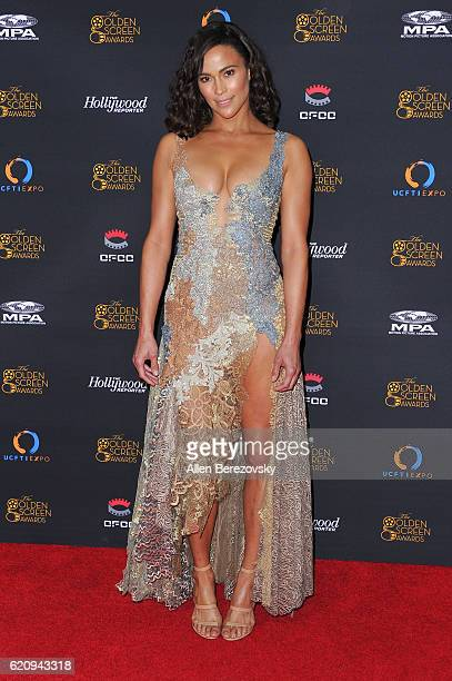 Actress Paula Patton attends The Golden Screen Awards at LA Live Event Deck on November 3 2016 in Los Angeles California