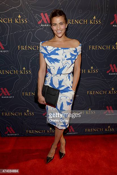 Actress Paula Patton attends The Marriott Content Studio's French Kiss film premiere at the Marina del Rey Marriott on May 19 2015 in Marina del Rey...