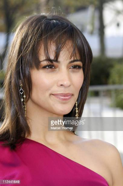 Actress Paula Patton attends the Metropolitan Opera's Opening Night Gala Benefit Performance of 'La Fille du Regiment' on April 21 2008 in New York...