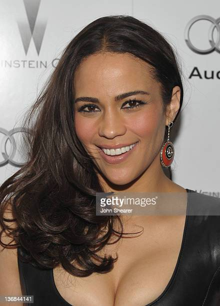 Actress Paula Patton attends the party hosted by the Weinstein Company and Audi to Celebrate Awards Season at Chateau Marmont on January 11 2012 in...