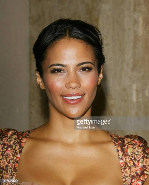 Actress Paula Patton attends the 'Precious' press conference during the 2009 Toronto International Film Festival held at the Four Seasons Hotel on...