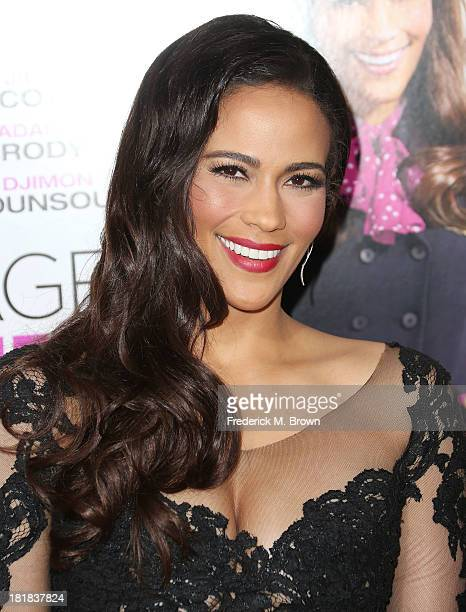 Actress Paula Patton attends the premiere of Fox Searchlight Pictures' Baggage Claim at the Regal Cinemas LA Live on September 25 2013 in Los Angeles...