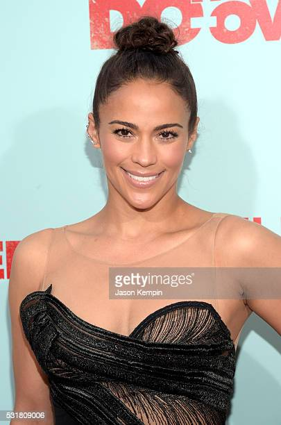 Actress Paula Patton attends the premiere of Netflix's 'The Do Over' at Regal LA Live Stadium 14 on May 16 2016 in Los Angeles California