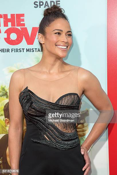 Actress Paula Patton attends the Premiere of Netflix's 'The Do Over' at the Regal LA Live Stadium 14 on May 16 2016 in Los Angeles California