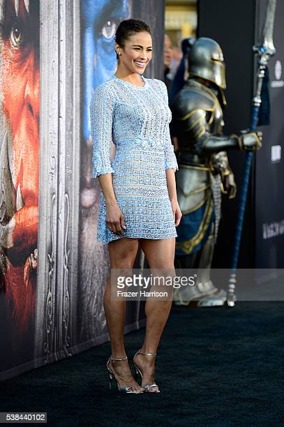 Actress Paula Patton attends the premiere of Universal Pictures' Warcraft at TCL Chinese Theatre IMAX on June 6 2016 in Hollywood California