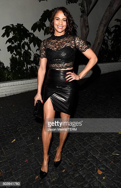 Actress Paula Patton attends the W Magazine celebration of the 'Best Performances' Portfolio and The Golden Globes with Audi and Dom Perignon at...