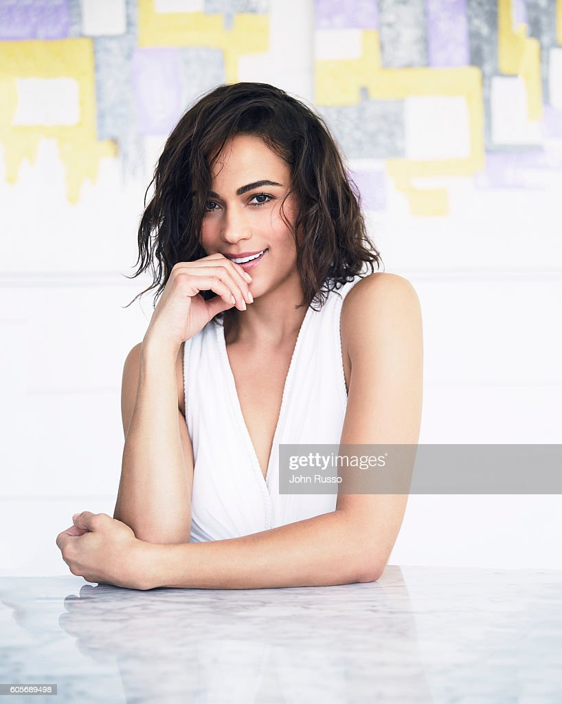 Actress Paula Patton is photographed for Haute Living Magazine on April 15, 2016 in Los Angeles, California.