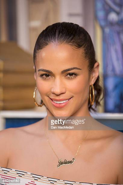 Actress Paula Patton is photographed for USA Today on May 11 2016 in Los Angeles California