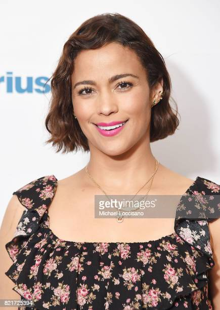 Actress Paula Patton visits SiriusXM Studios on July 24 2017 in New York City